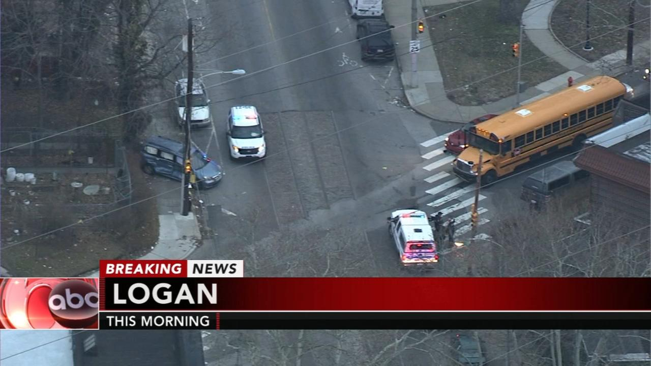 School bus crash in Logan