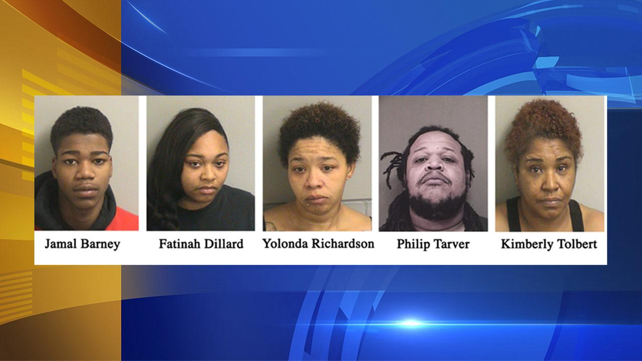 5 arrested in Ocean County drug bust