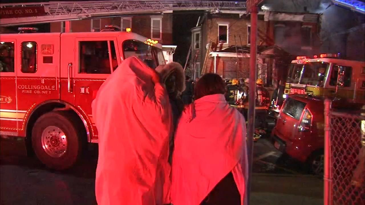2 homes damaged in Darby fire