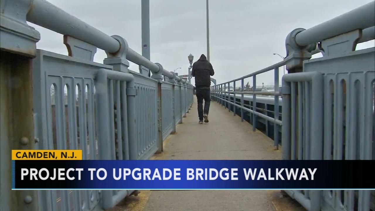 Project to begin on upgrading Ben Franklin Bridge walkway