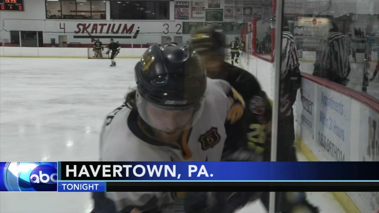 Charity hockey game for fallen firefighter