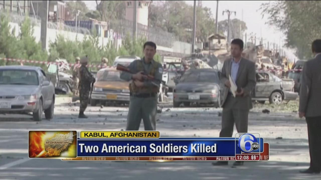 VIDEO: 2 US soldiers killed