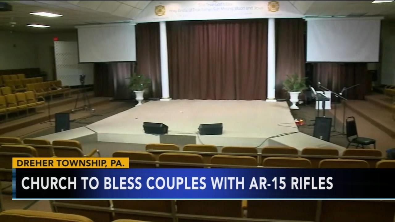 Pa. church to bless owners of AR-15 rifles