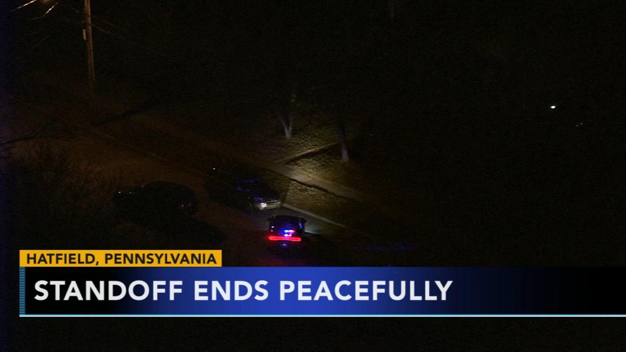 5-hour standoff ends in Hatfield, Pa.