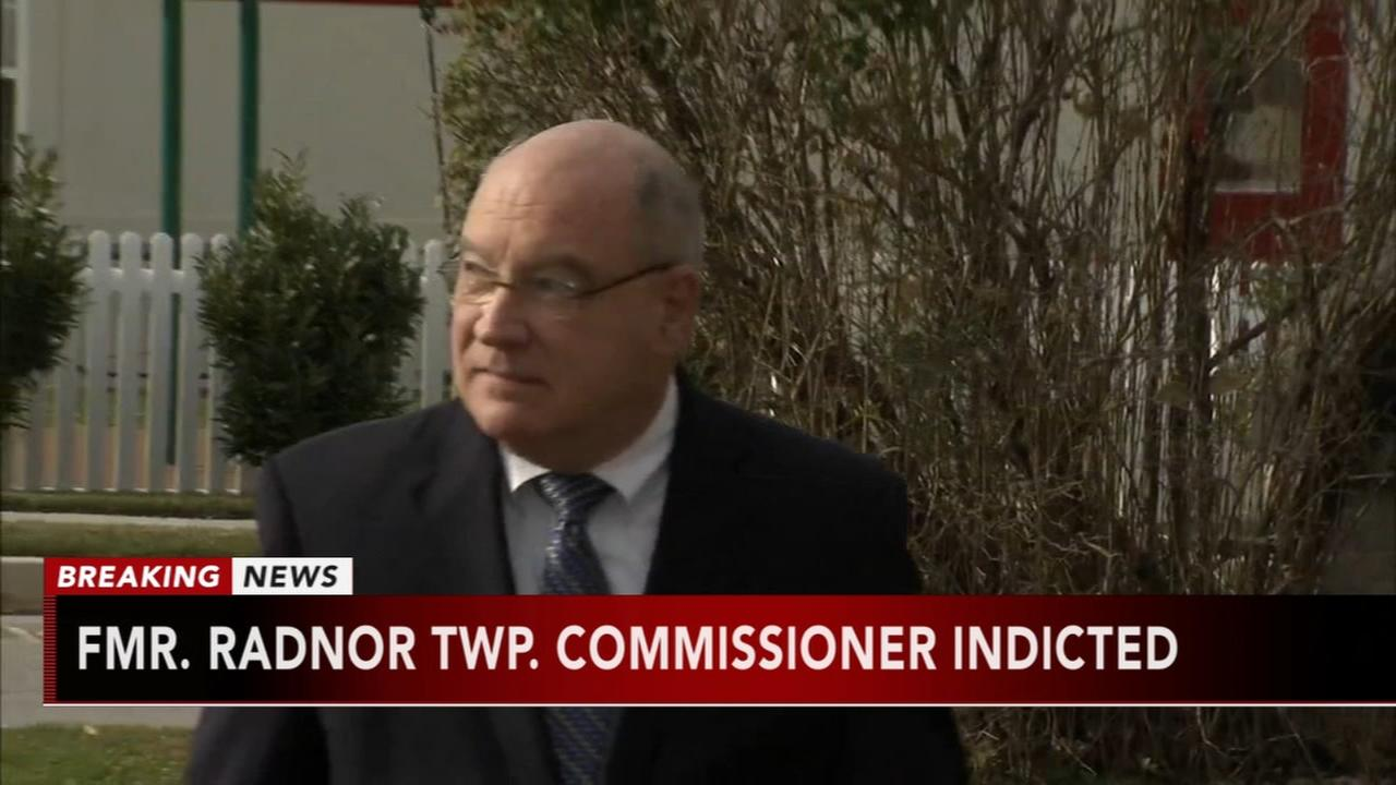 Fmr. Radnor Township commissioner indicted