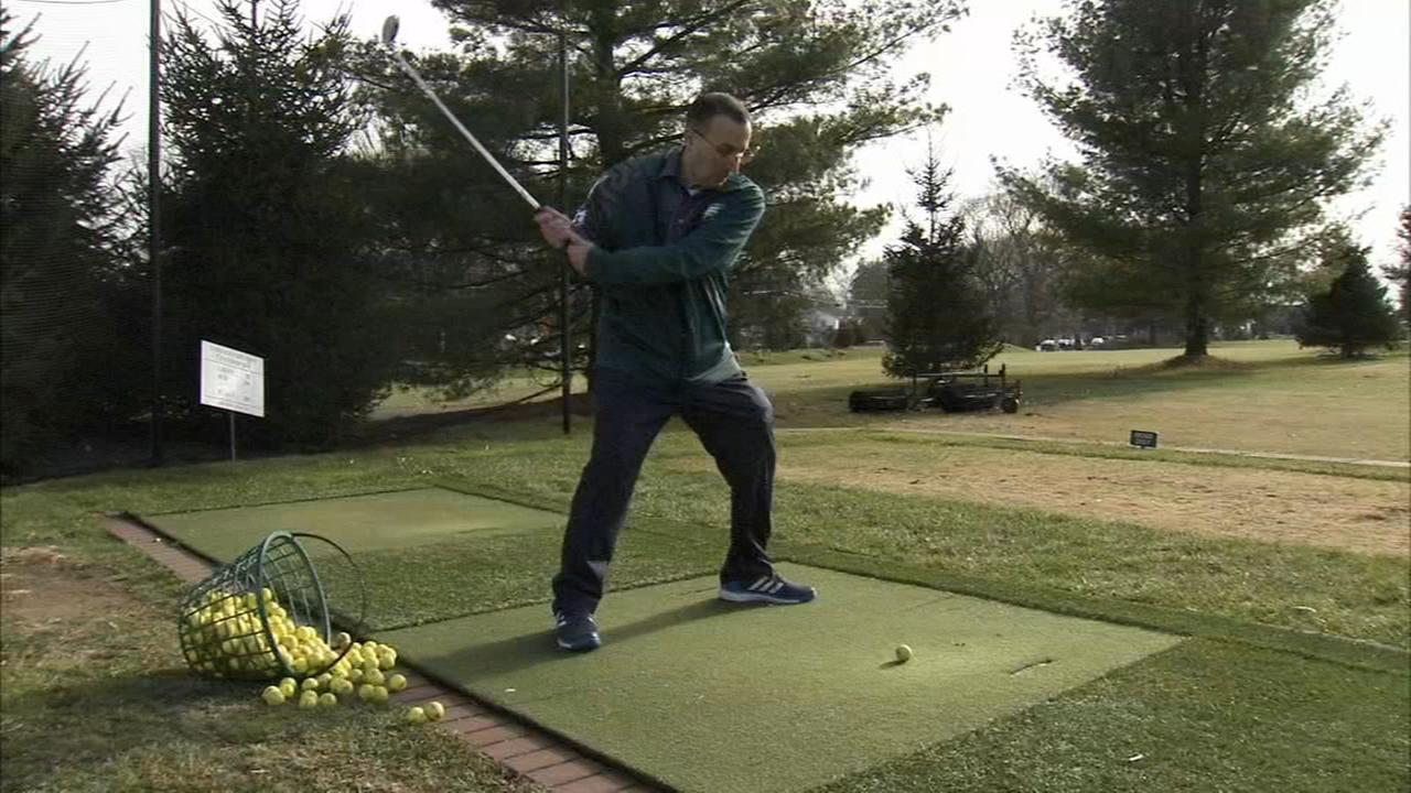 Local man loses over 100 pounds with patience, perseverance - and golf
