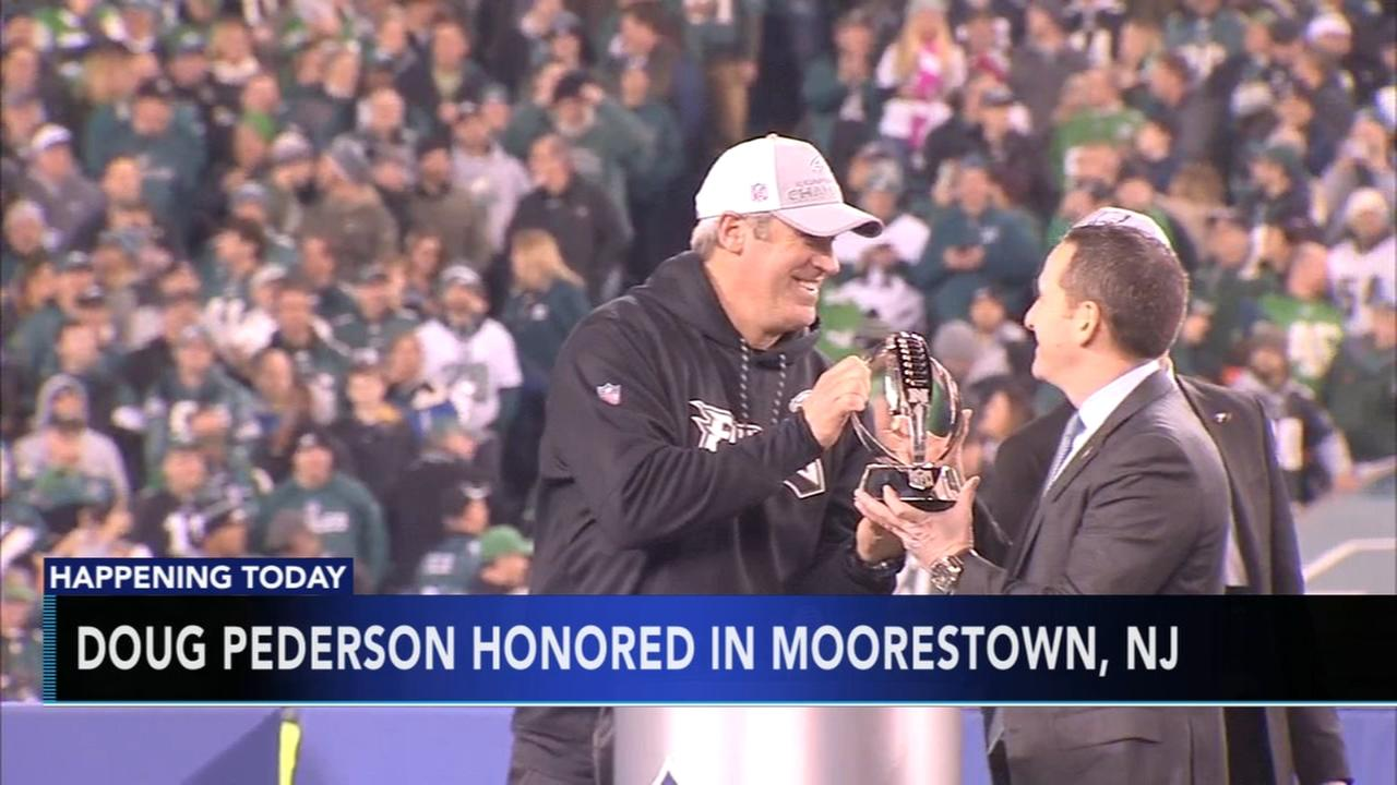 Doug Pederson to be honored in Moorestown