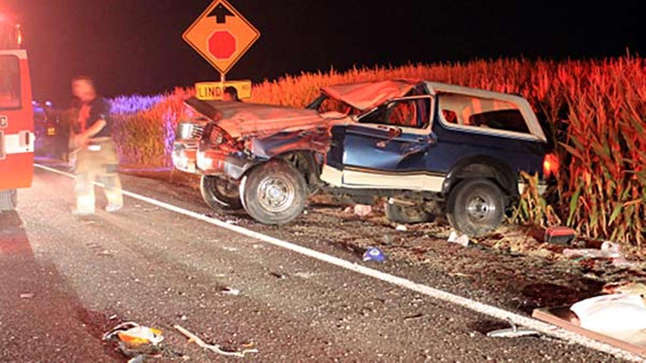 Sheriff: Burned armpit hair led to car crash