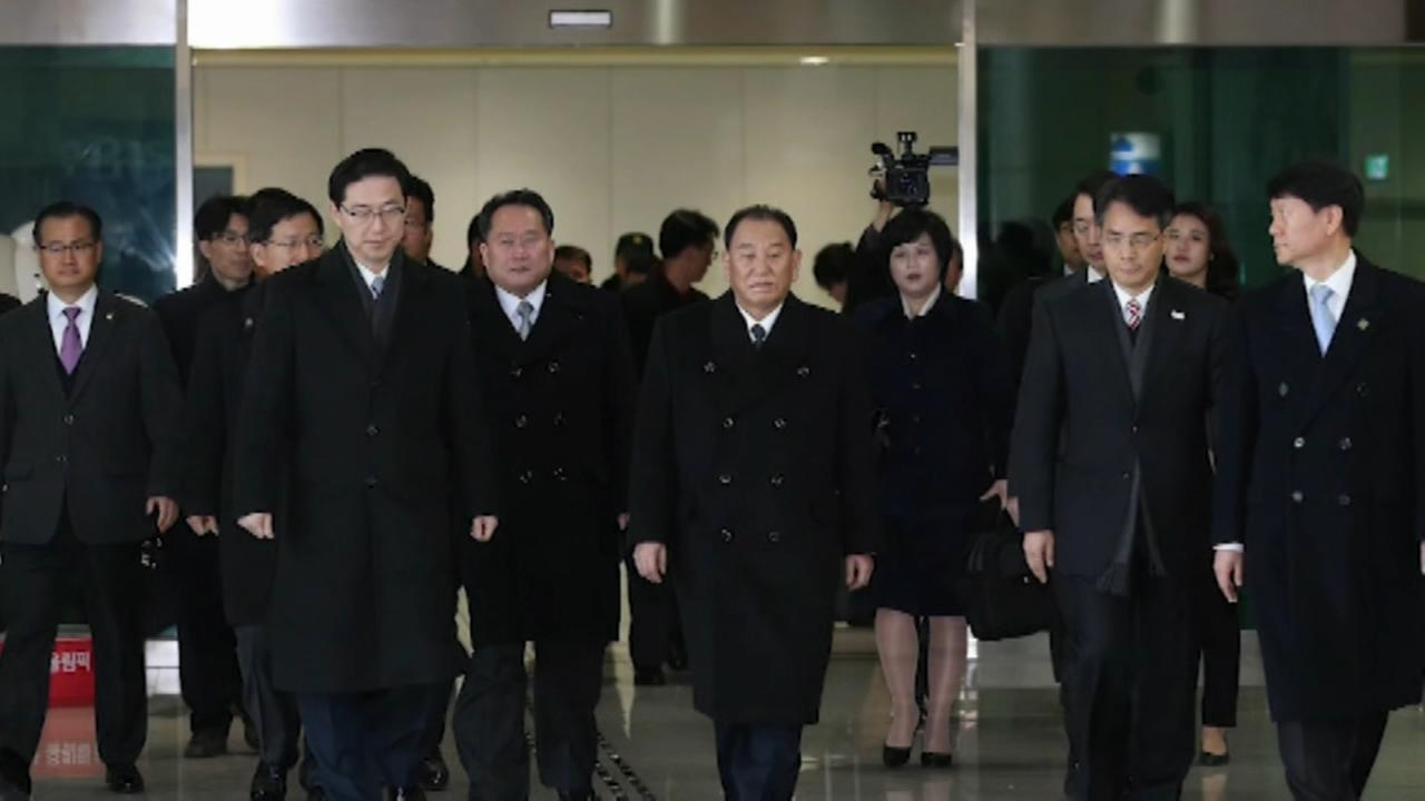 North Korea open to talks with United States, South Korea says