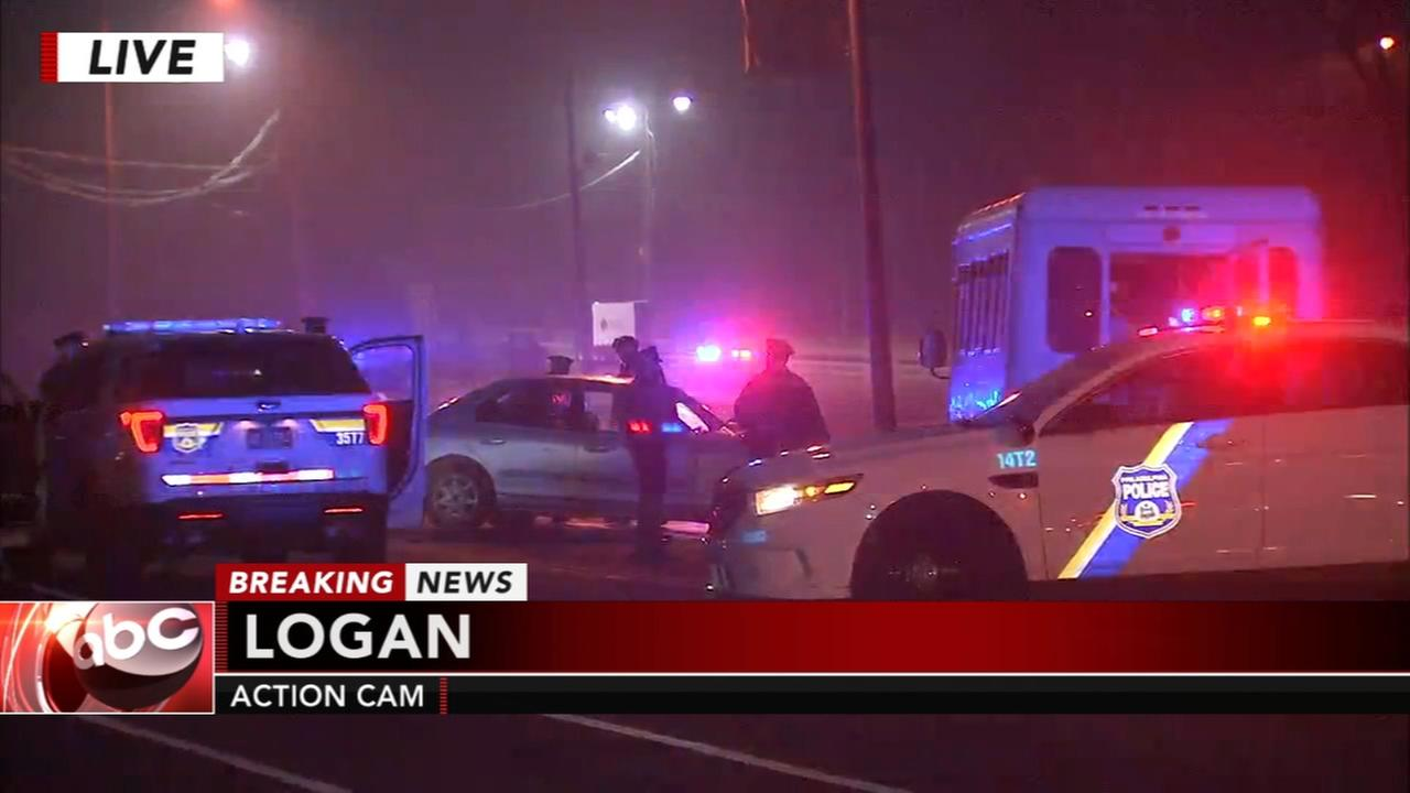 2 injured in Logan collision