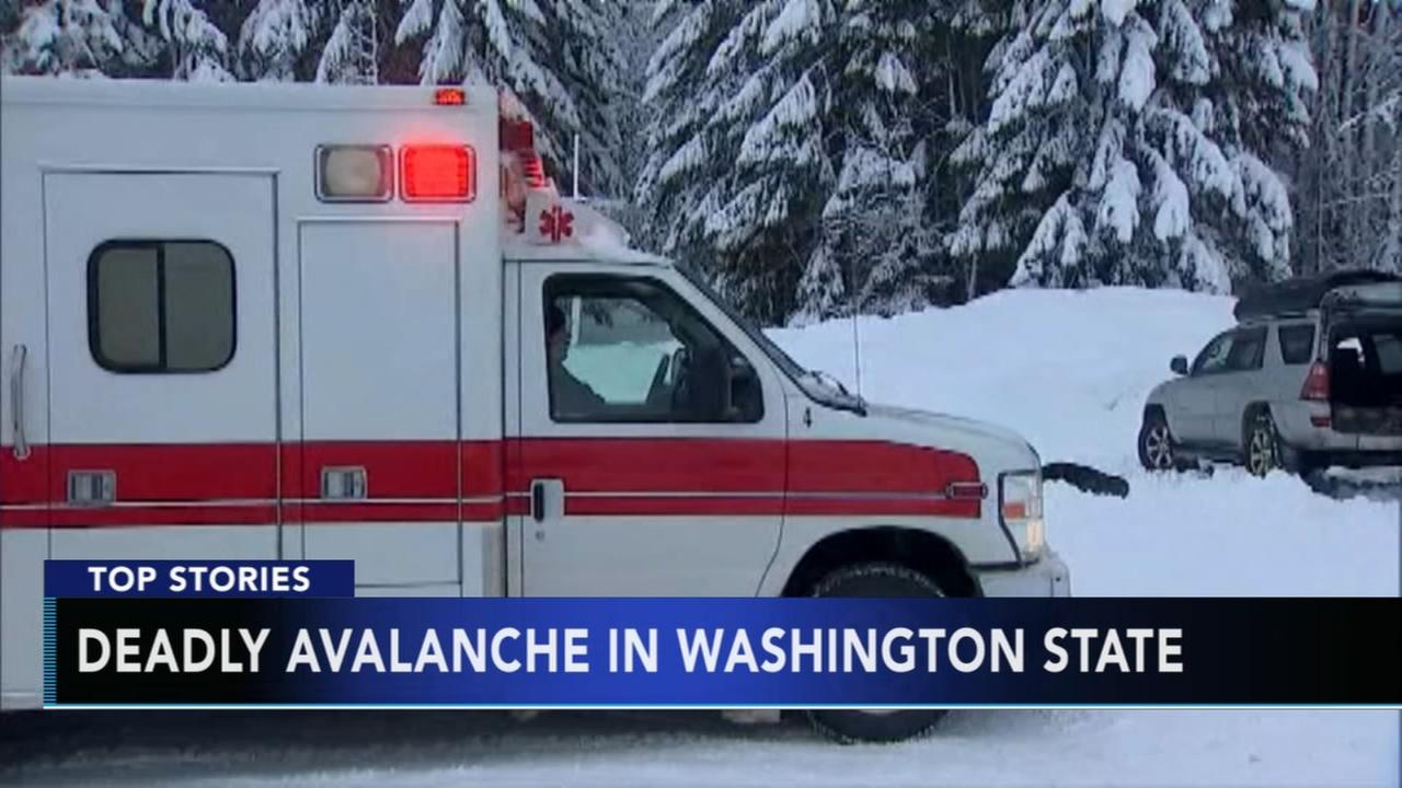 Deadly avalanche in Washington State