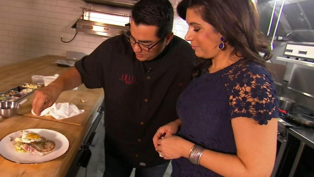 6 Minute Meals: Chef Garces steak and eggs