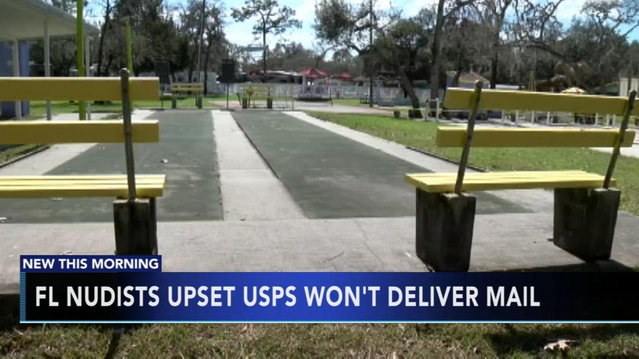 USPS wont deliver mail in nudist community