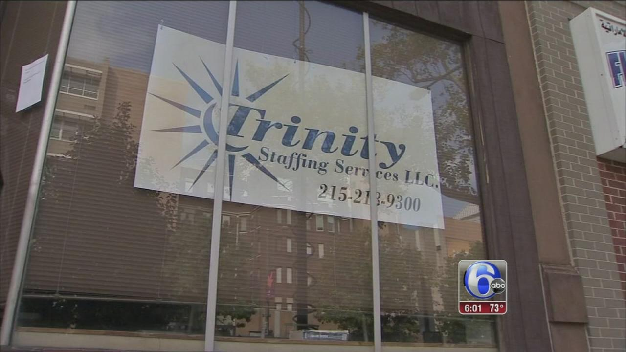 VIDEO: Woman stabbed at employment agency in South Philly