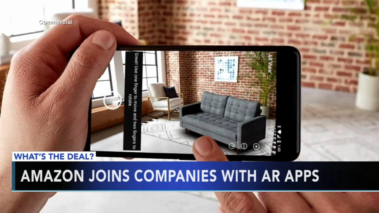 Amazons augmented reality app lets you try before you buy