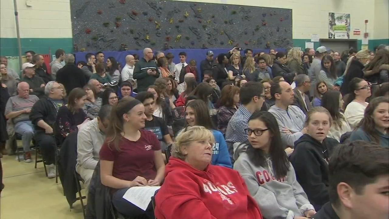 CHE students parents pack school board meeting