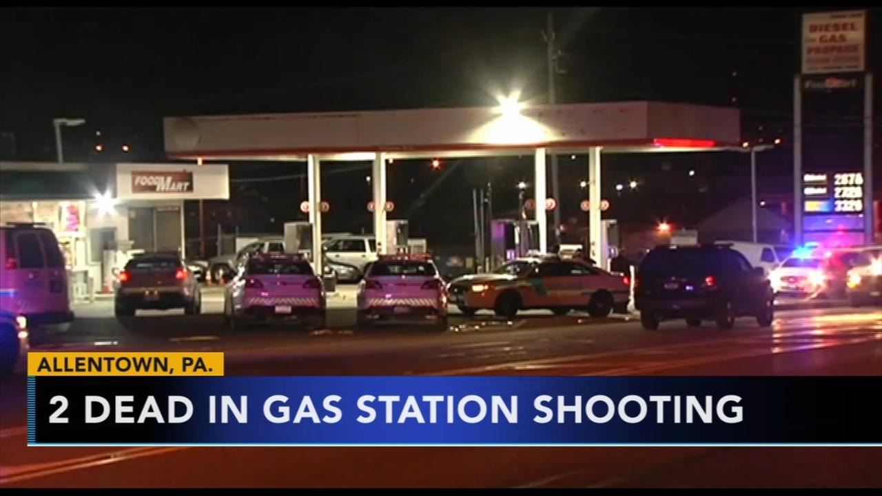 2 dead in Allentown gas station shooting
