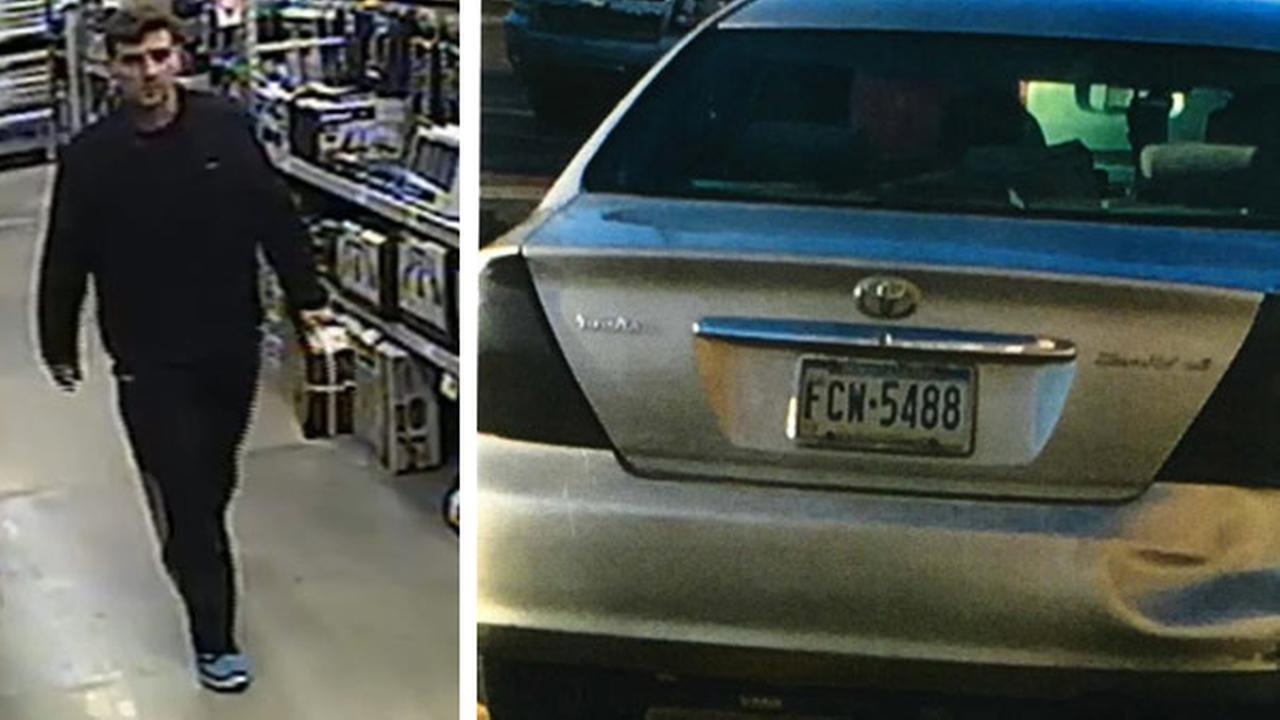 Police: 'Blue Sneaker Bandit' targeting local stores