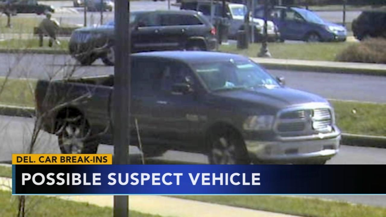 Police investigate multiple thefts inside Delaware vehicles