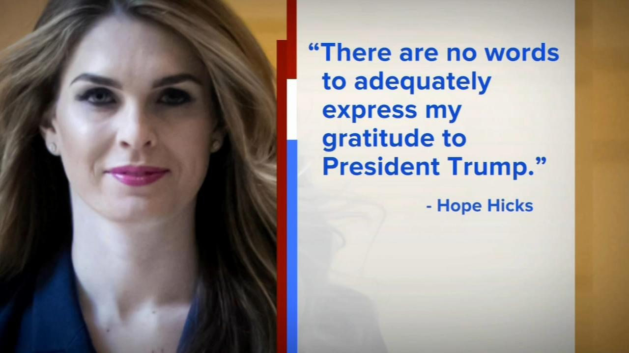 Hope Hicks leaving as Trumps communication director