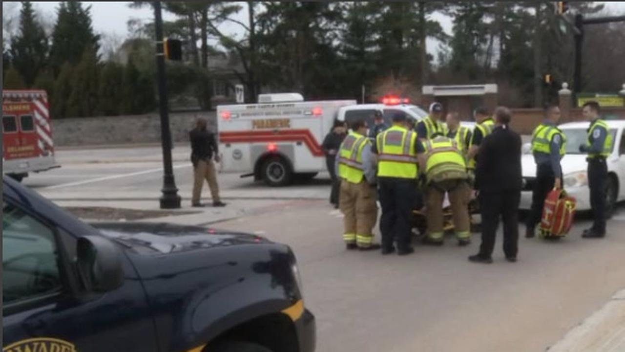 Pedestrian struck, injured in Greenville, Delaware