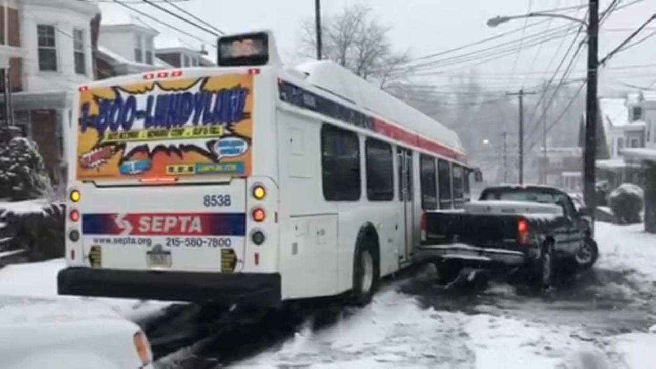 SEPTA works to resume services following Fridays storm