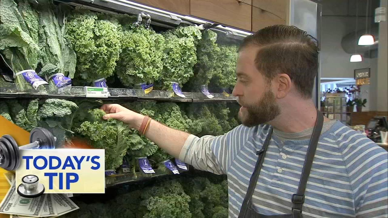 Green kale - Todays produce tip