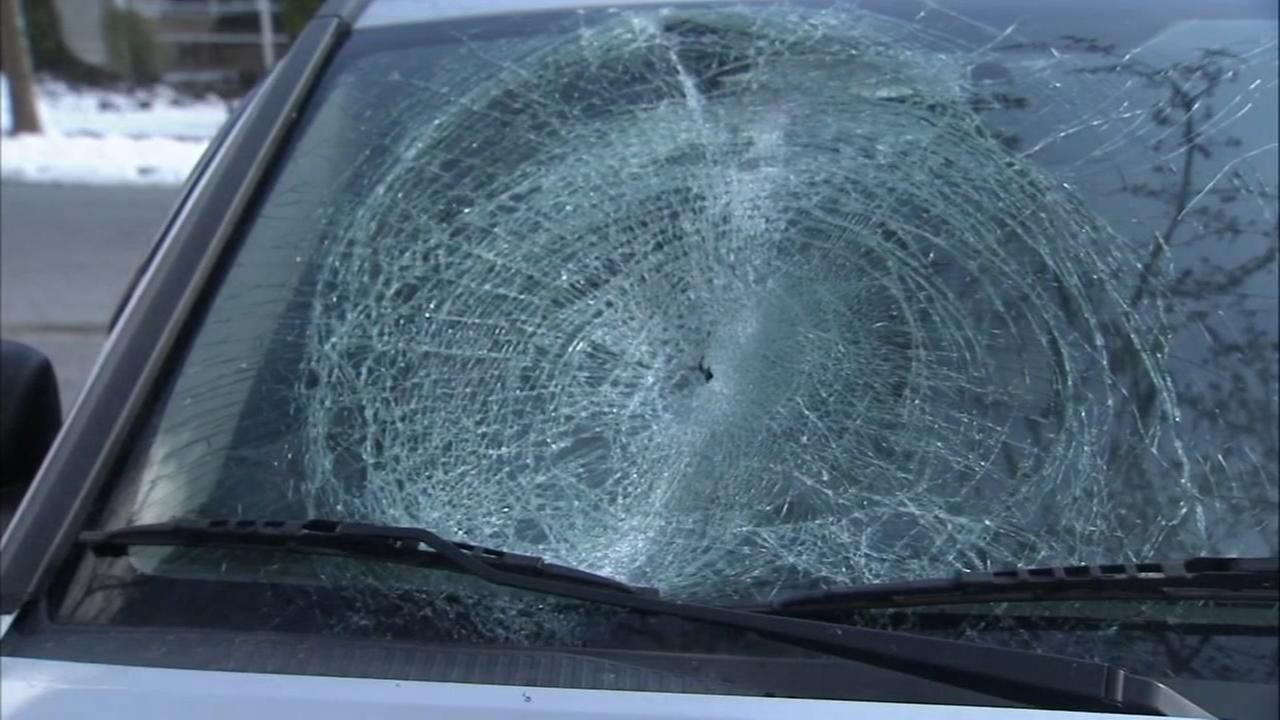 Flying ice left on cars presents a real danger to motorists