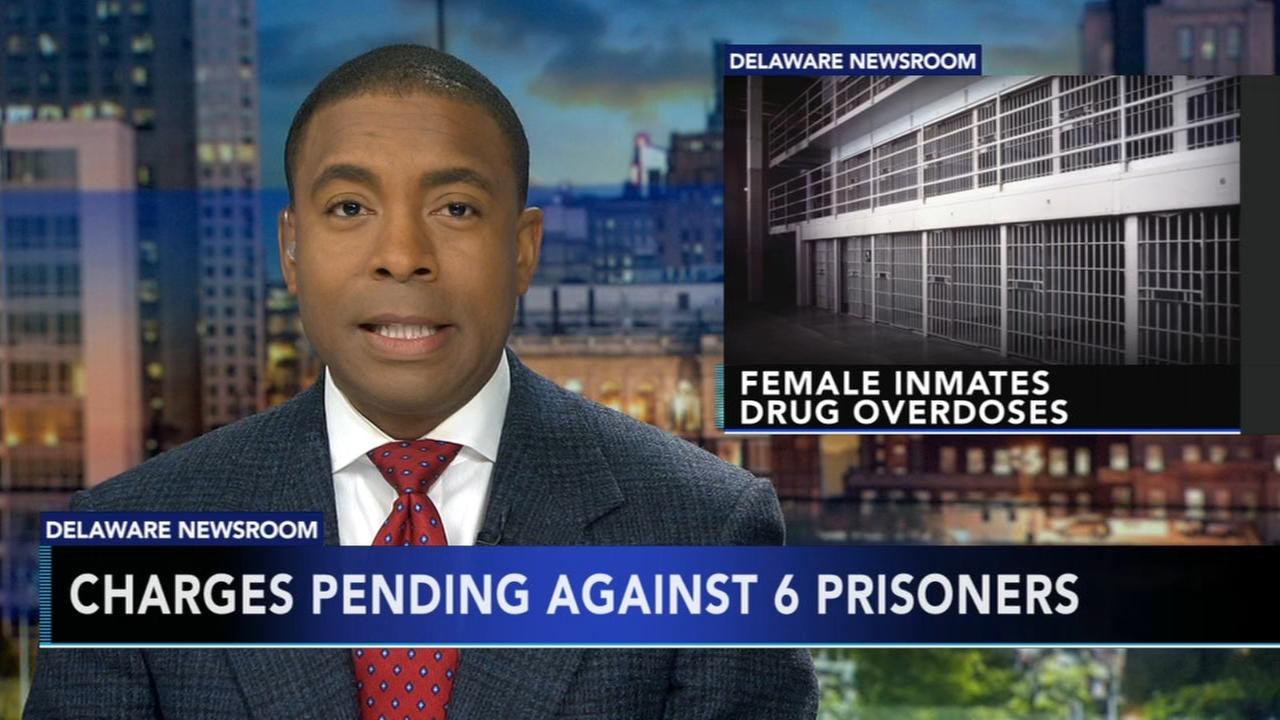 Charges pending against 6 inmates after drug overdoses