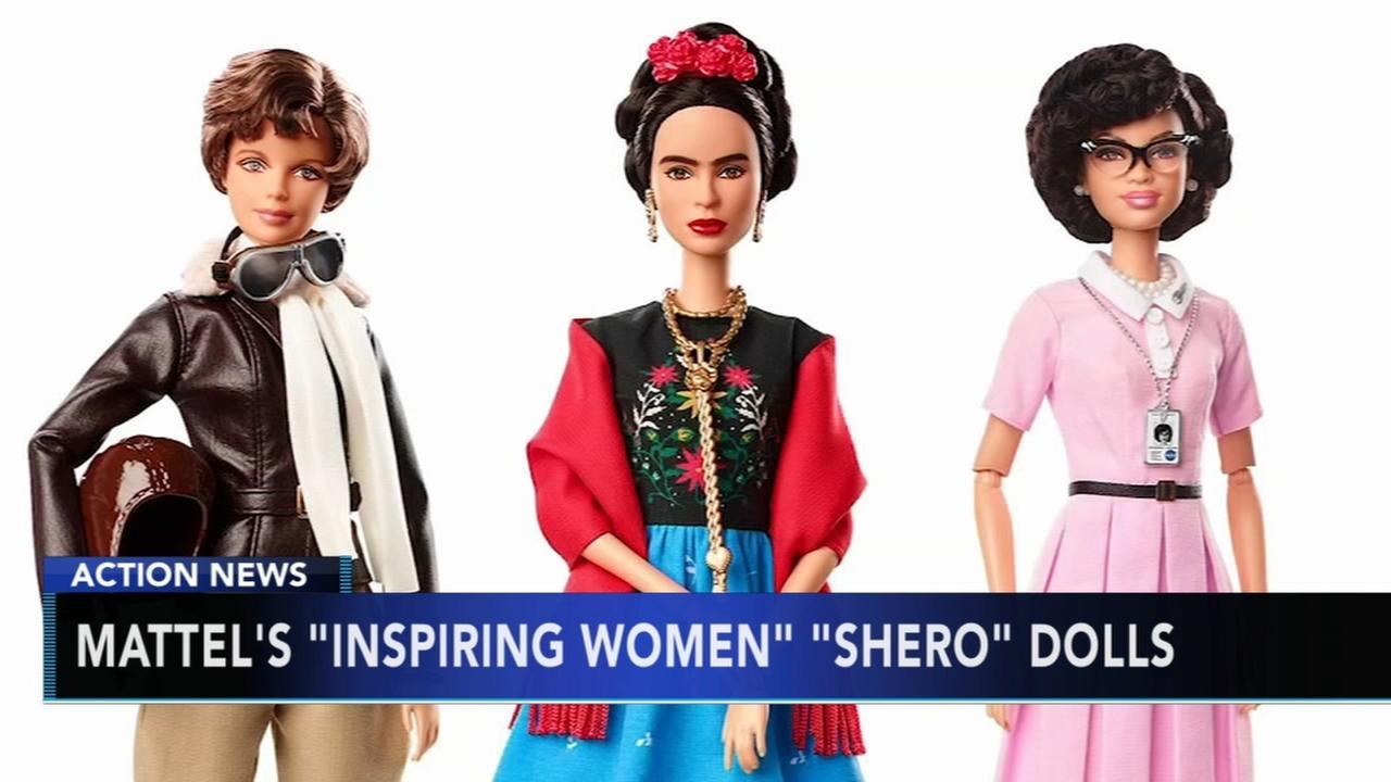 Mattel introduces new inspiring women Barbie dolls