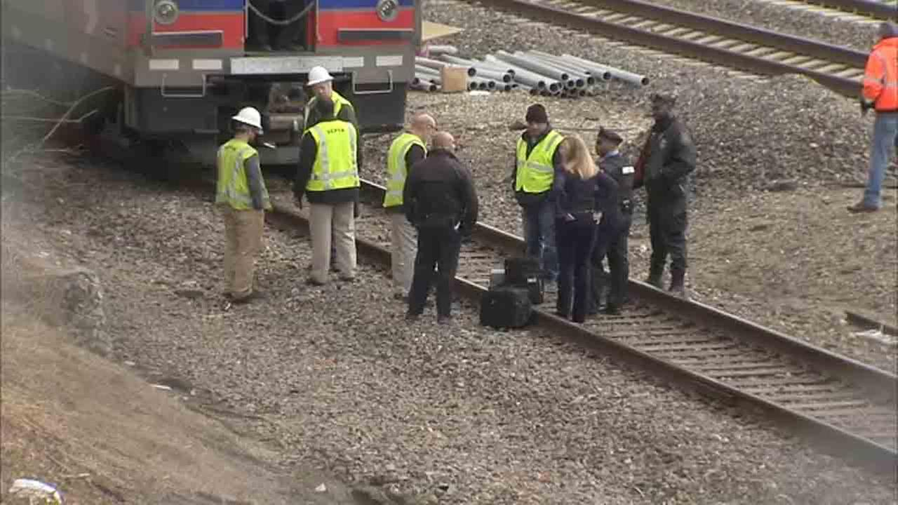 Pedestrian struck by train on SEPTA's Airport Line in Southwest Philadelphia