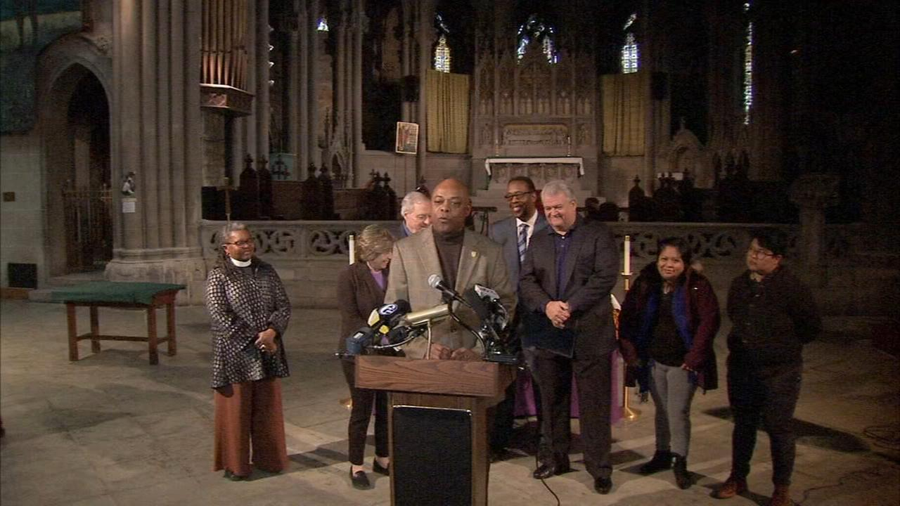 Lawmakers support family seeking sanctuary in North Philly church