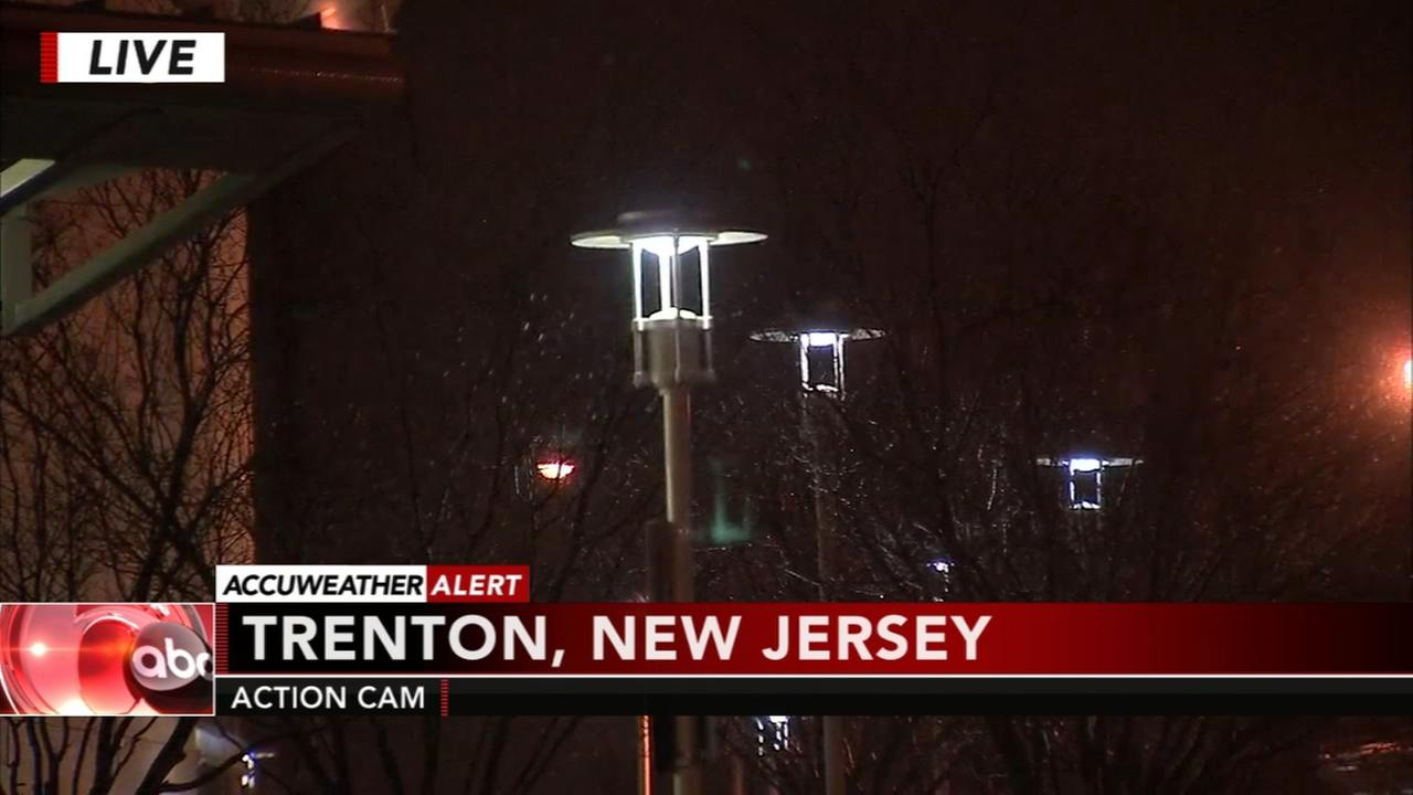 Jeff Chirico reports on conditions in Trenton