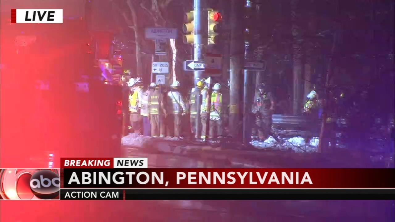 Serious crash in Abington