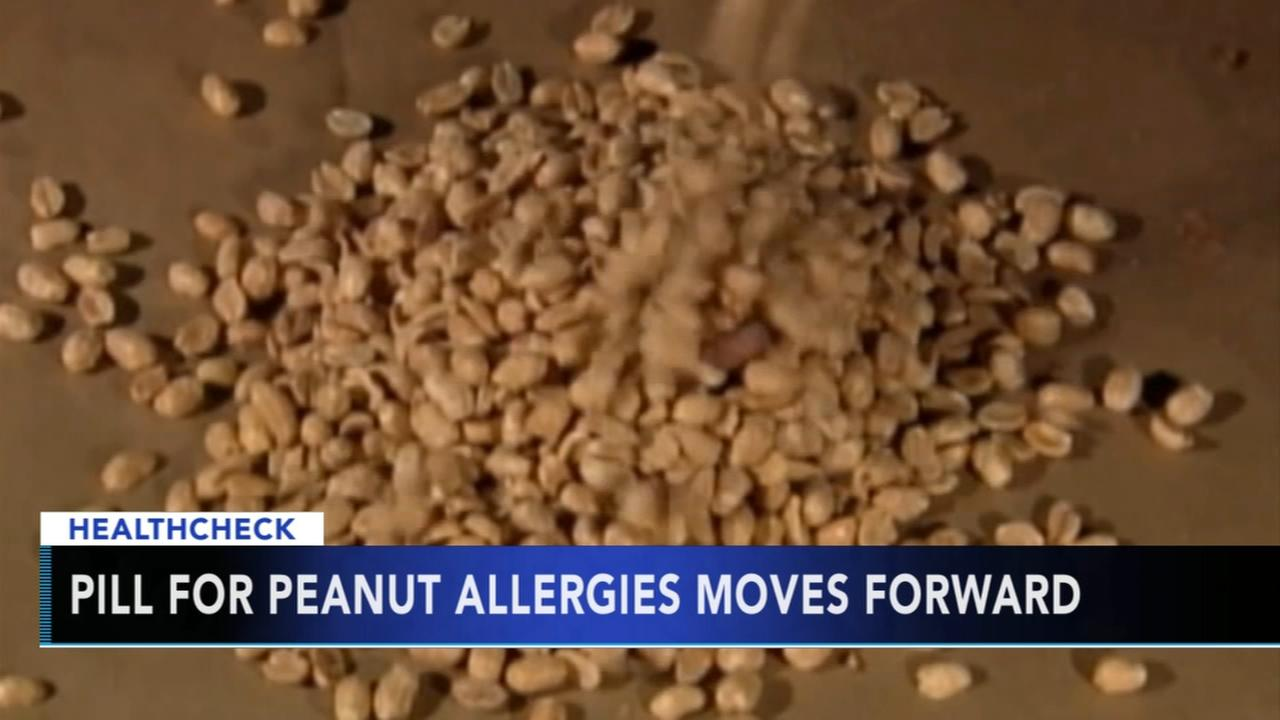 Pill for children with severe peanut allergies moves forward