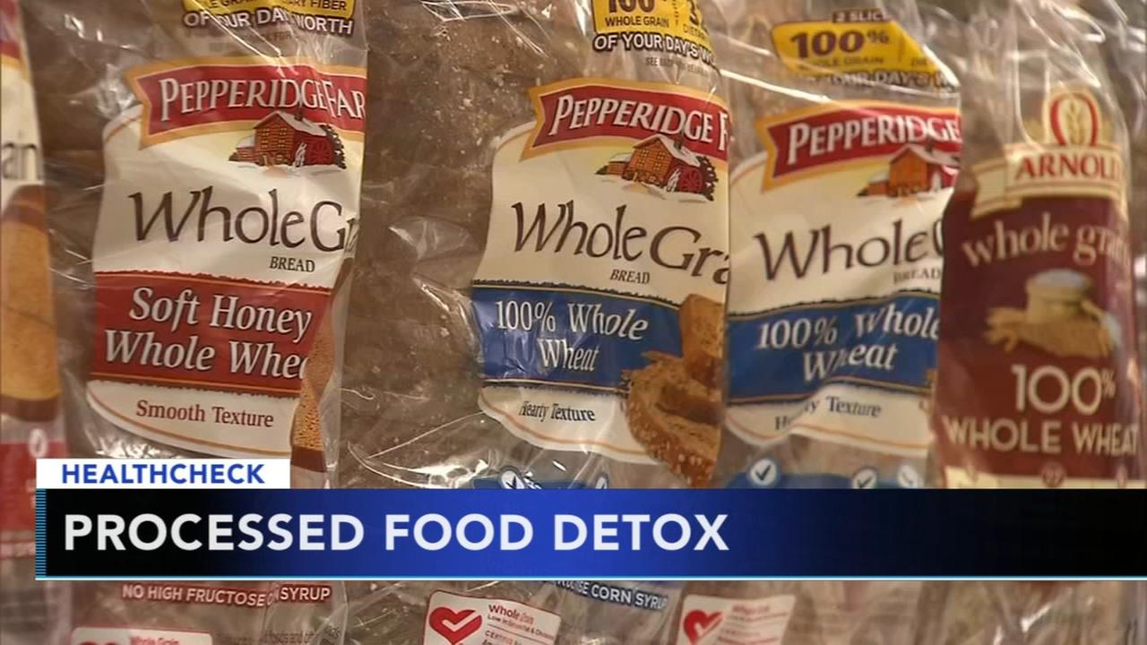 Tips to detox from unhealthy processed foods