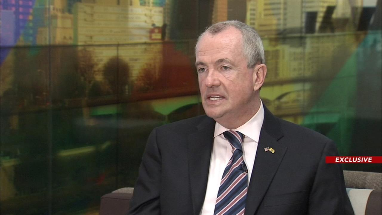 New Jersey Governor Phil Murphy talks about his plan for the garden state