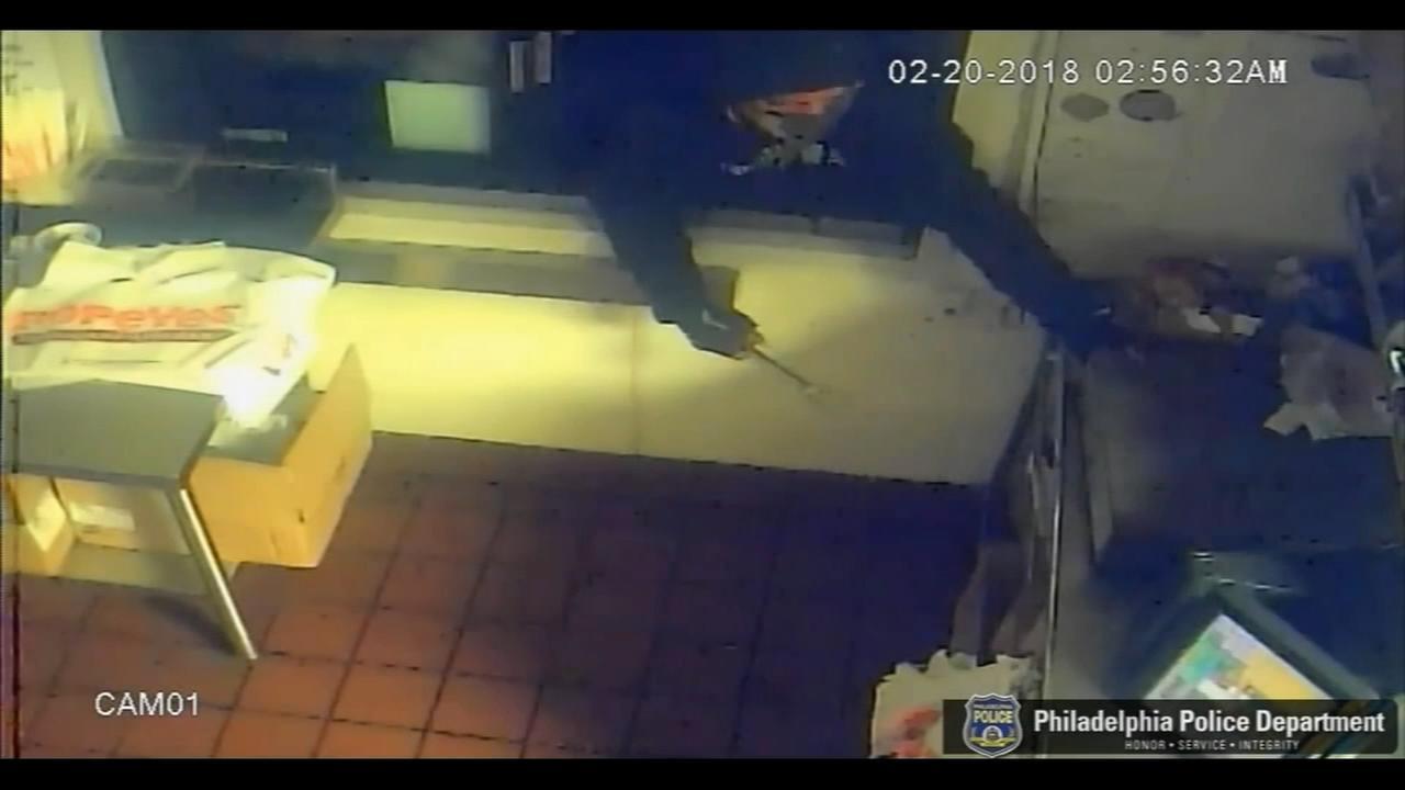 Drive-thru burglar hits multiple area fast-food restaurants