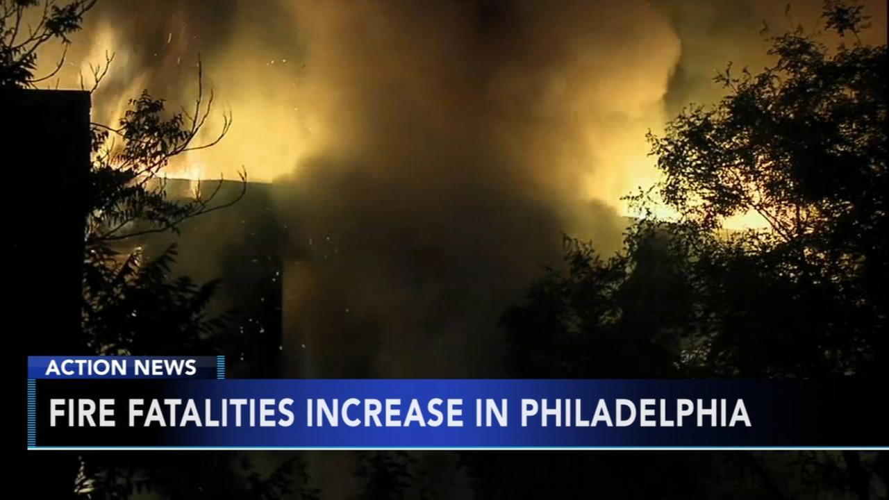 Officials see increase in fire fatalities in Philadelphia