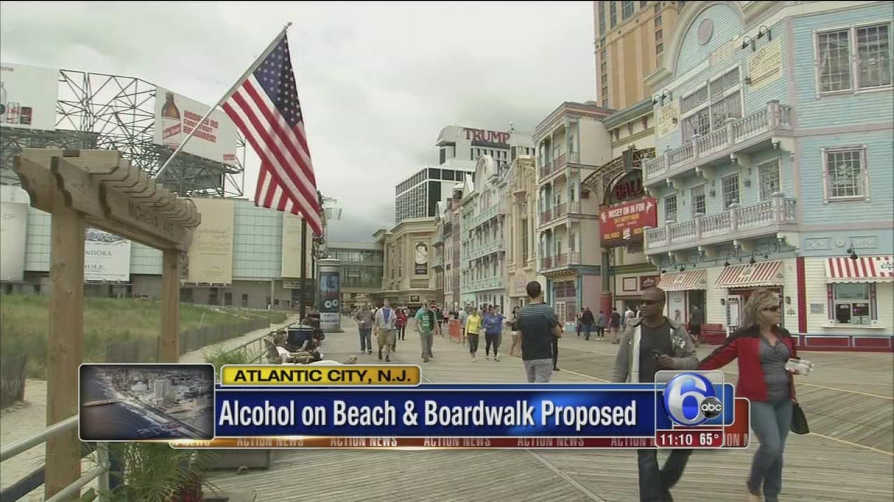 VIDEO: NJ lawmaker proposes alcohol on AC Boardwalk