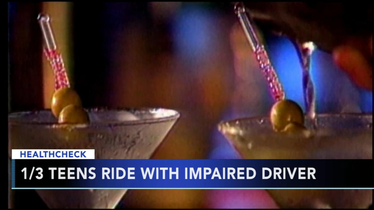 One third of teens admit to riding with someone under the influence