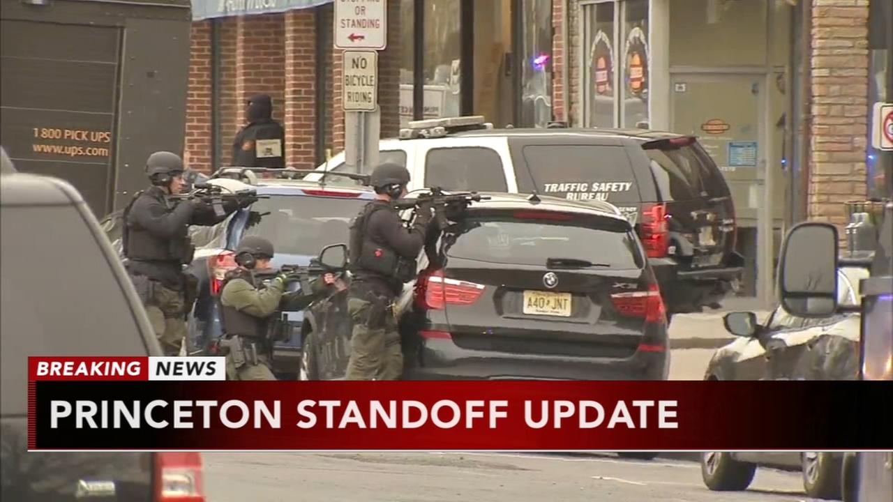 Standoff with armed man near Princeton U. apparently over