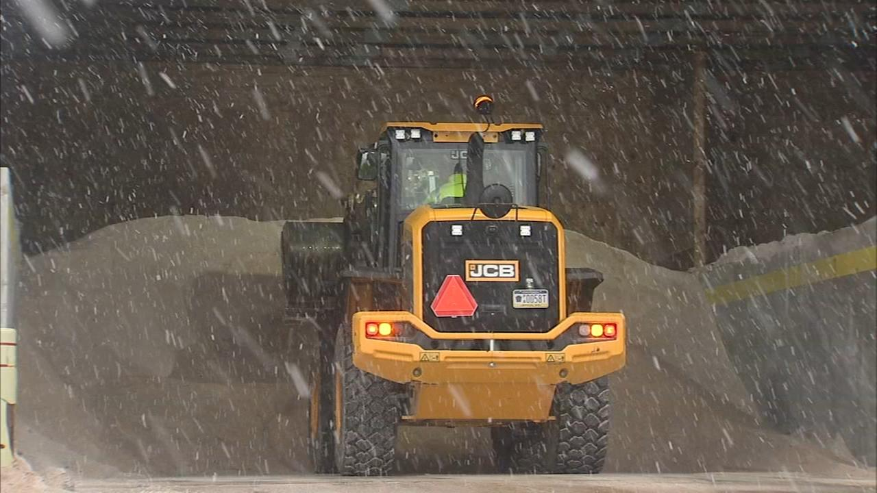 PennDOT prepares roads ahead of storm