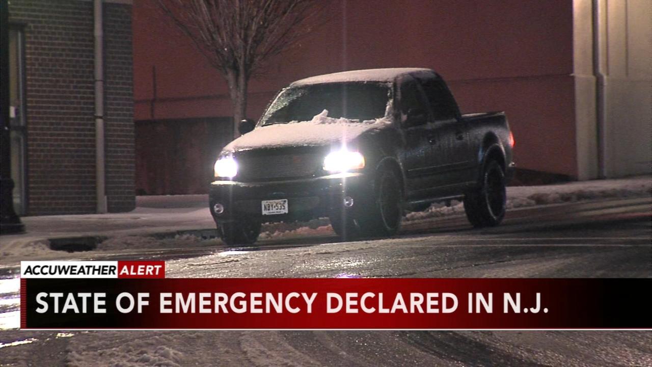 State of Emergency declared in NJ