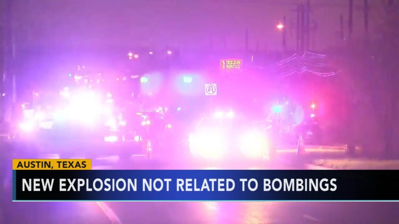 Another explosion in Austin