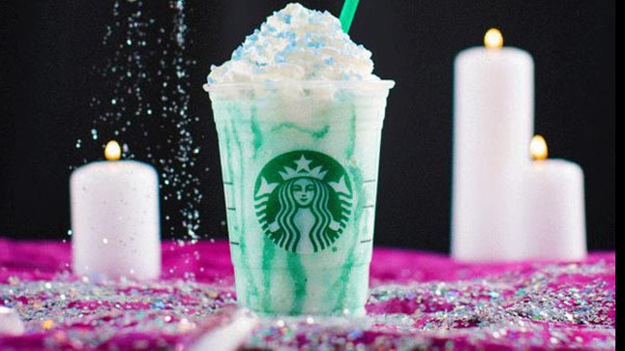 Starbucks debuts 'Crystal Ball' Frappuccino