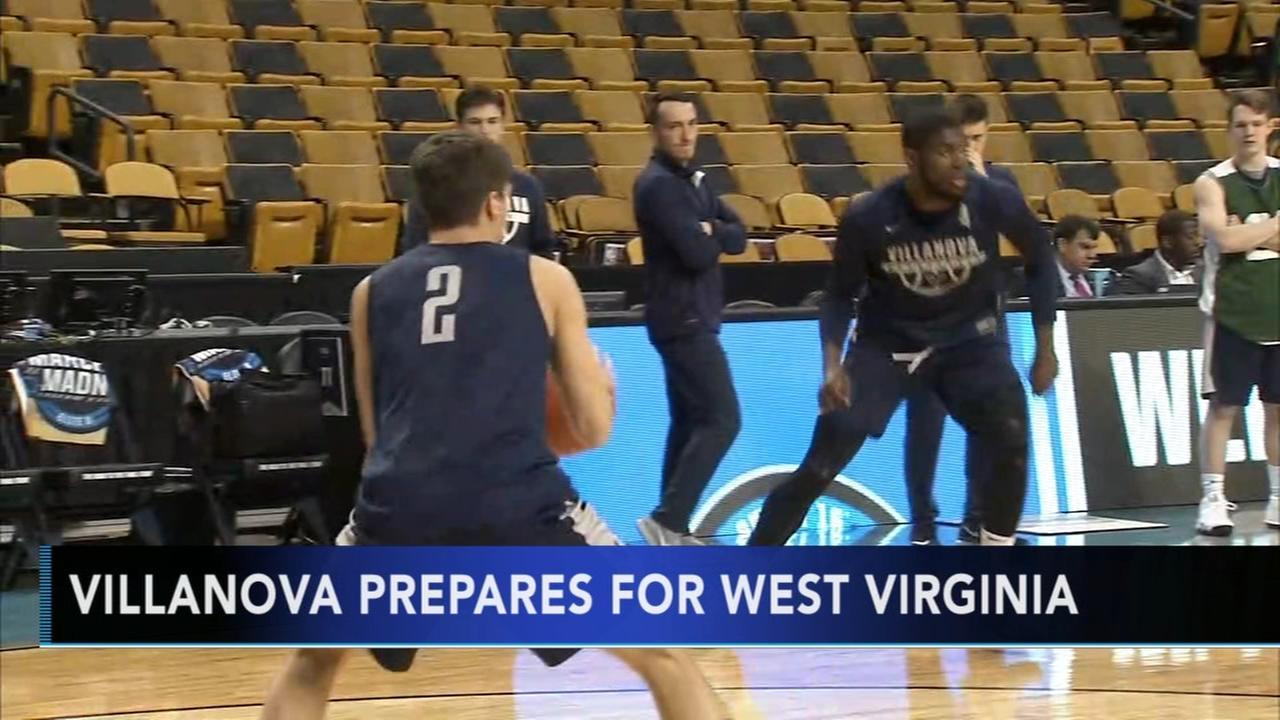 Villanova prepares for Sweet 16 matchup against West Virginia