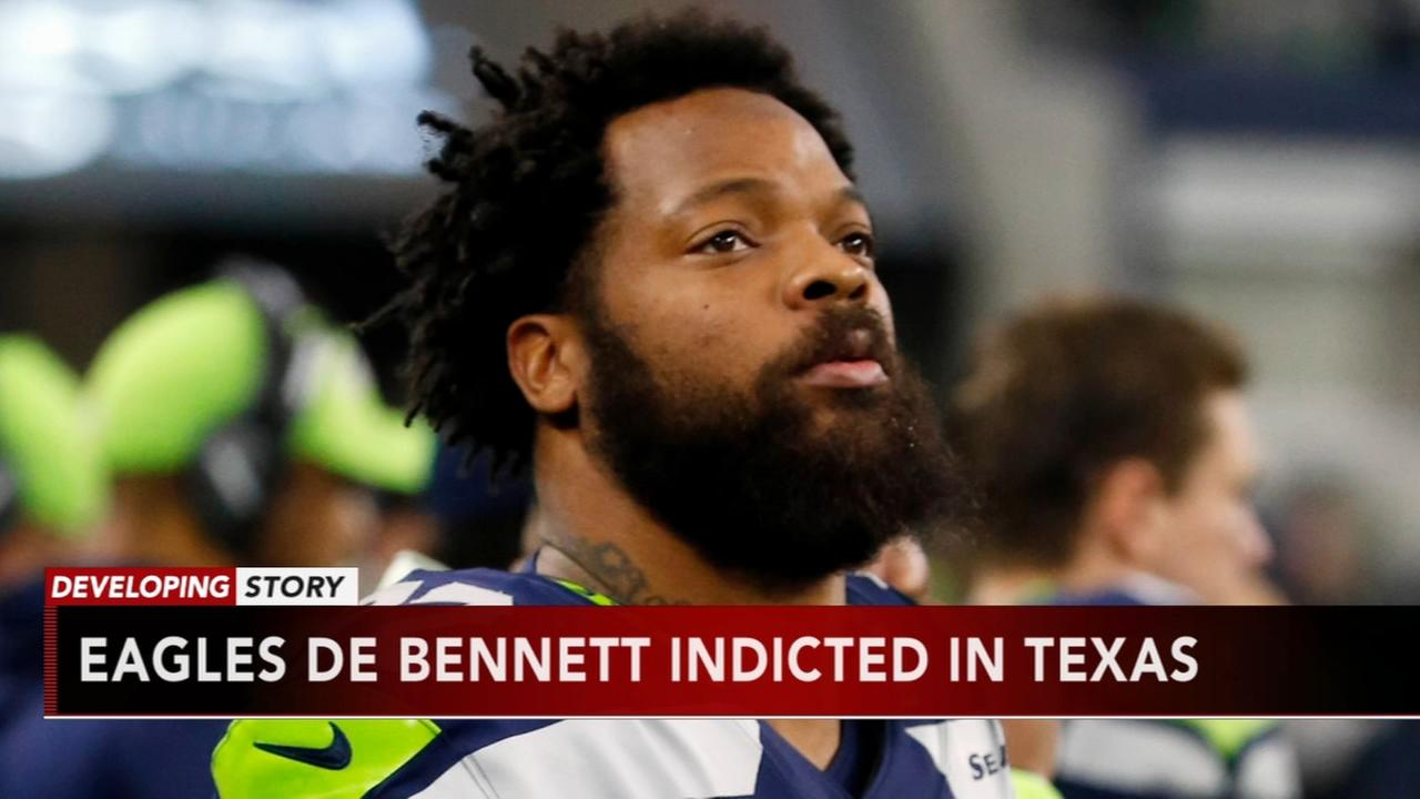 DA: Eagles DE Michael Bennett pushed paraplegic woman, 66