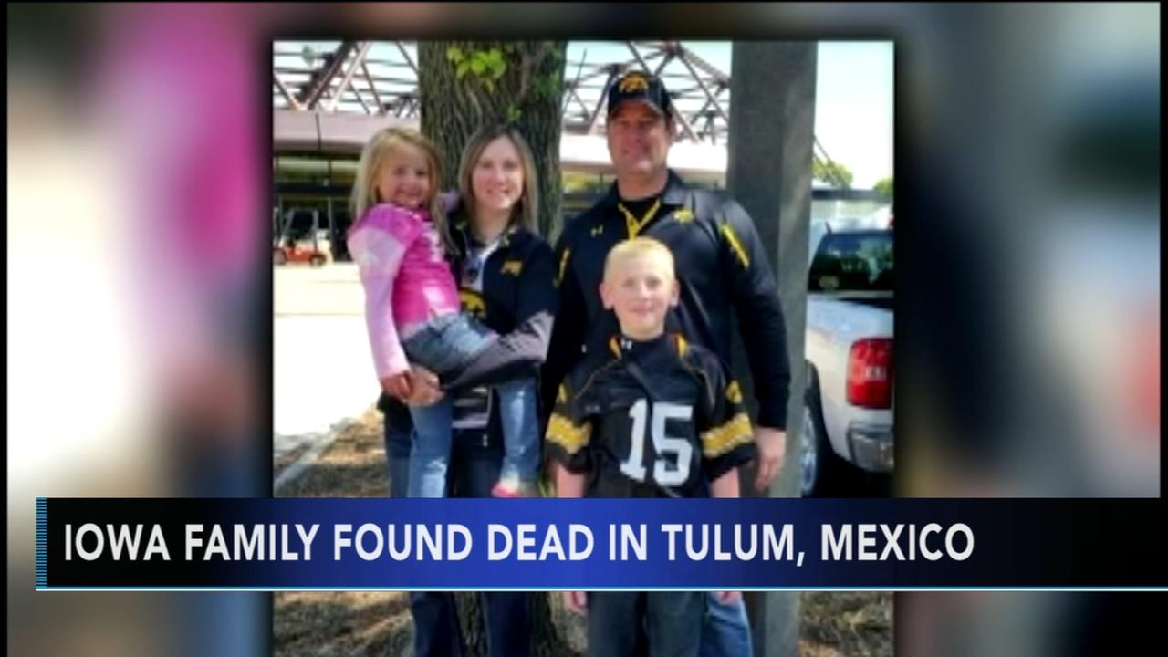 Investigators say missing Iowa family found dead in Mexico