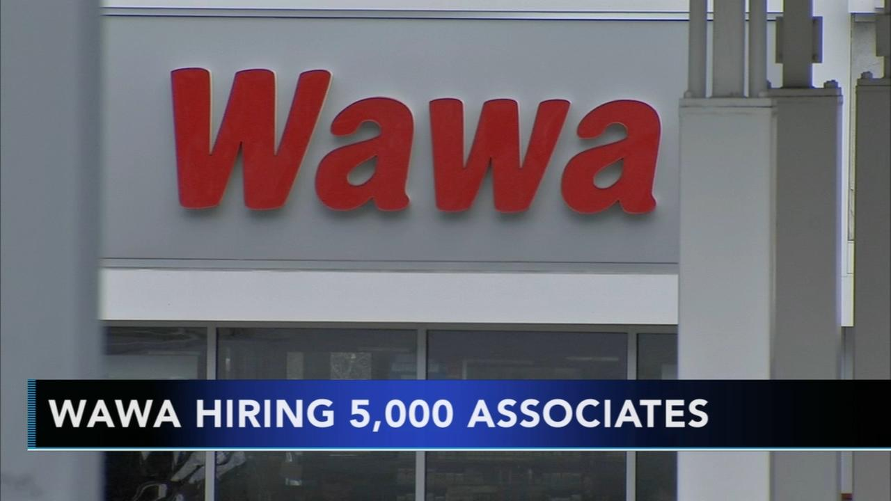 Wawa planning to hire 5,000 associates